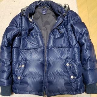 GAP - GAP ギャップ Mサイズ ダウンジャケット jacket 紺色 ネイビー 服