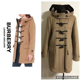 BURBERRY - Burberry♡ハート柄♡ダッフルコート
