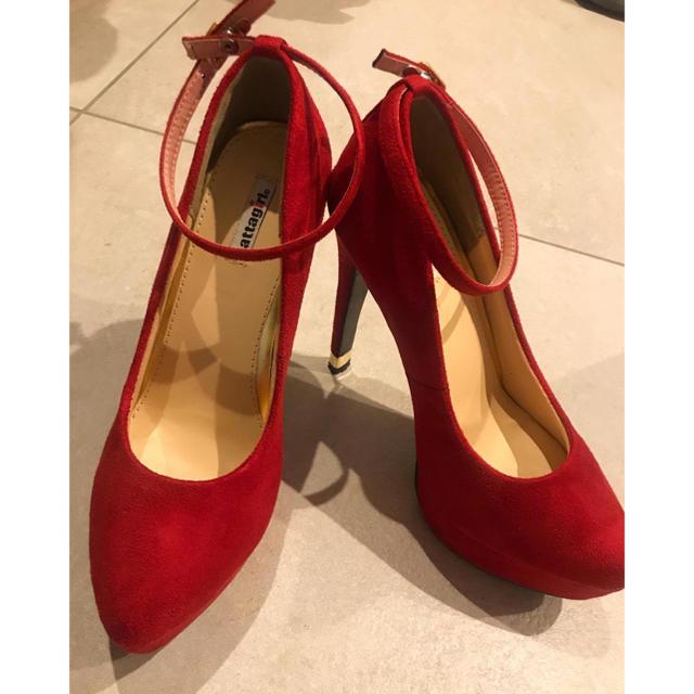 ESPERANZA(エスペランサ)のattagirl スエードパンプス レディースの靴/シューズ(ハイヒール/パンプス)の商品写真