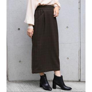 LOWRYS FARM - ウールコンタイトスカート