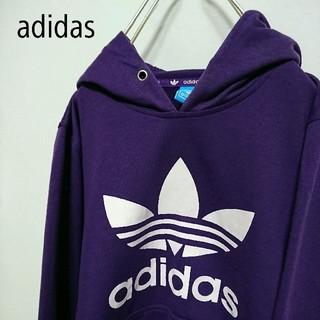 adidas - アディダス adidas トレフォイルロゴ パーカー