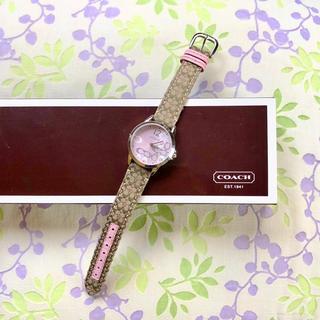 COACH - COACH   ㊶   腕時計・稼動品✨