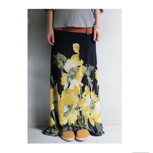 antiqua(アンティカ)の🌸アンティカ 花柄ロングスカート🌸 レディースのスカート(ロングスカート)の商品写真
