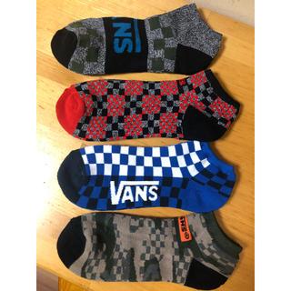ヴァンズ(VANS)のvans バンス メンズソックス 靴下 4足 セット1(ソックス)
