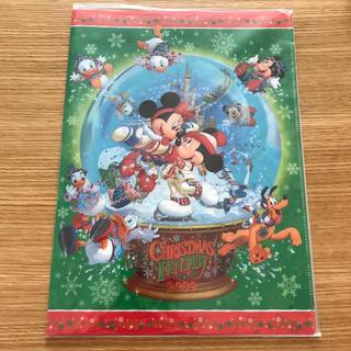 Disney - Disney クリアファイル クリスマス