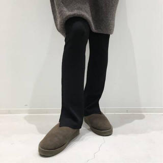 L'Appartement DEUXIEME CLASSE - 新品◆ブラック◆L'Appartement Wool Zip Leggings