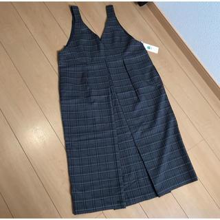 イッカ(ikka)の新品 イッカ ikka    ジャンパースカート(ひざ丈ワンピース)