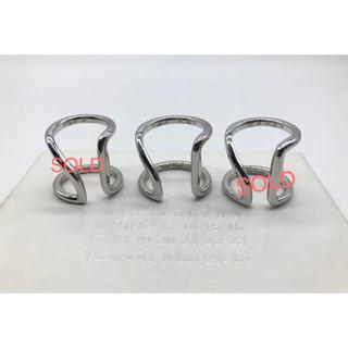 マルタンマルジェラ(Maison Martin Margiela)のマルタンマルジェラ シルバー 4連リング 指輪(リング(指輪))