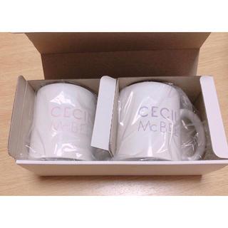 セシルマクビー(CECIL McBEE)のセシルマクビー ペアマグカップ(グラス/カップ)