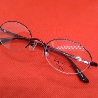 アニエスベー(agnes b.)のアニエスベー未使用眼鏡人気のオーバル(サングラス/メガネ)