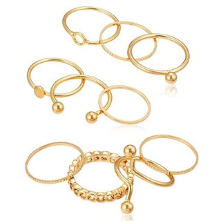 ウィゴー(WEGO)のWEGO ウィゴー リング 指輪 10セット ゴールド 新品(リング(指輪))