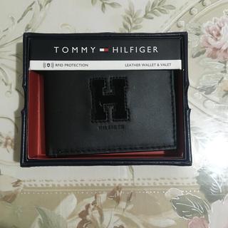 TOMMY HILFIGER - 新品 トミーフィルフィガー   レザーサイフ