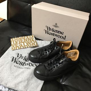 Vivienne Westwood - 新品 スクイグル柄 スニーカー ヴィヴィアン ウエストウッド