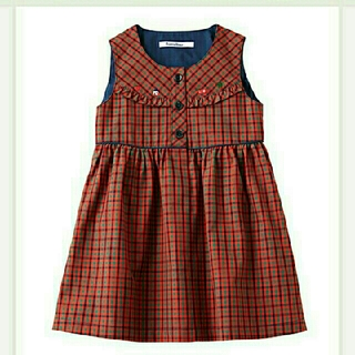 familiar - 新品未使用:familiar ジャンパースカート