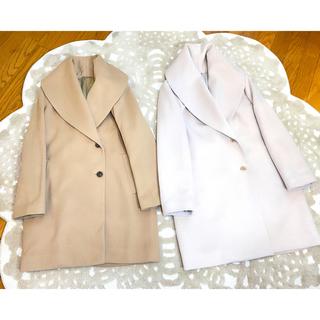 ANAYI - 5万円❤️美品⭐️ANAYI アナイ ビッグカラー カシミヤ混ウール コート