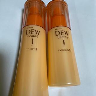デュウ(DEW)のデュウボーテ化粧水乳液2品 未使用(化粧水 / ローション)