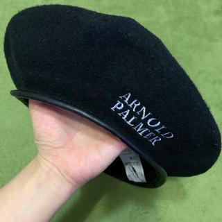 Arnold Palmer - アーノルドパーマー ベレー帽 ブラック
