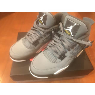 NIKE - AIR JORDAN 4 COOL GREY