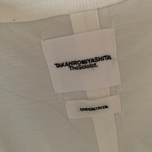 UNDERCOVER(アンダーカバー)のundercover TAKAHIRO MIYASHITATheSoloist. メンズのトップス(Tシャツ/カットソー(半袖/袖なし))の商品写真