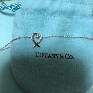 Tiffany & Co. - TIFFANY&Co. ラビングハートネックレス