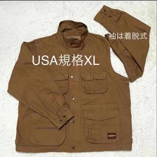 タフ(TOUGH)の大きいサイズ 新品 TOUGH DUCH 袖着脱式 ワークジャケット(ピーコート)