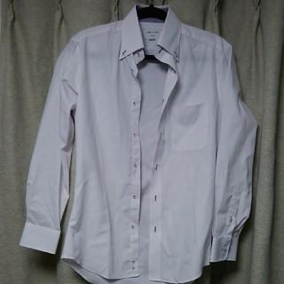 オリヒカ(ORIHICA)の未使用/ORIHICA/オリヒカ/S/白×薄紫色/Yシャツ(シャツ)
