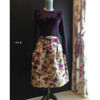 M'S GRACY - エムズグレイシー   今期スカート サイズ42