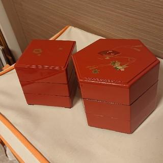 可愛い重箱セット🌸2柄 3段セット