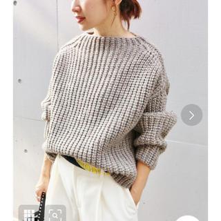 IENA - IENA♡chere british wool プルオーバー