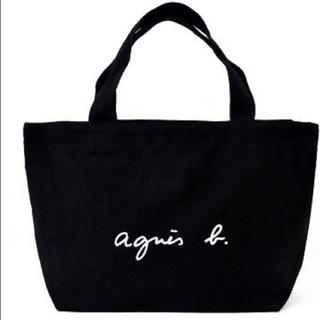agnes b. - 【新品】♡アニエス・ベー♡ミニトートバッグ♡ブラック♡タグ付き♡