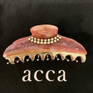 acca - acca ダブルコラーナ  クリップ中 ワイン マーブル アッカ