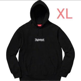 シュプリーム(Supreme)のSupreme Bandana Box Logo Hooded Black XL(パーカー)