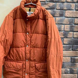 ザノースフェイス(THE NORTH FACE)の80s ノースフェイス 中綿ジャケット 古着 茶タグ オレンジ TALON(ダウンジャケット)