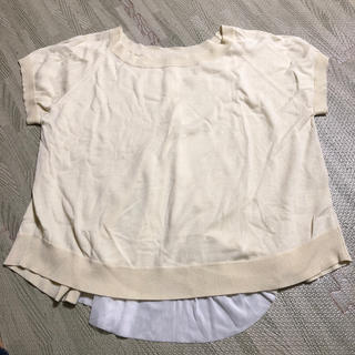 カプリシューレマージュ(CAPRICIEUX LE'MAGE)のCAPRICIEUX LEMAGE トップス 半袖 Fサイズ(カットソー(半袖/袖なし))