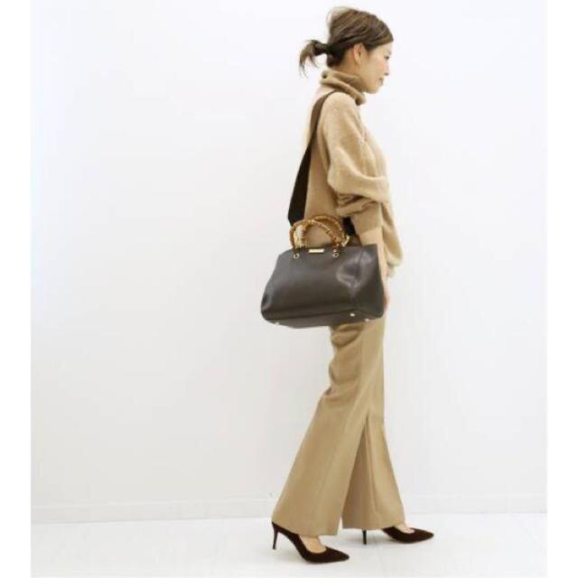 DEUXIEME CLASSE(ドゥーズィエムクラス)のKATIE LOXTON BAMBOO BAG レディースのバッグ(ハンドバッグ)の商品写真
