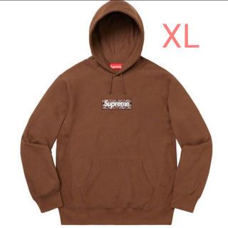 シュプリーム(Supreme)のSupreme Bandana Box Logo Hooded Brown XL(パーカー)