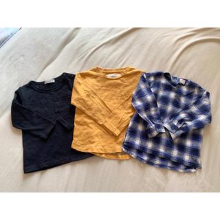 プティマイン(petit main)のロンT3枚セット(Tシャツ/カットソー)