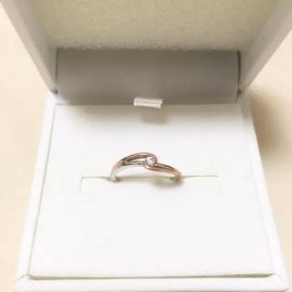 お値下げ♡【10Kダイヤモンド☆ピンクゴールド】指輪 リング(リング(指輪))