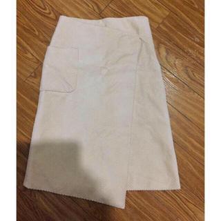ミラオーウェン(Mila Owen)のオニコール巻きスカート(ひざ丈スカート)