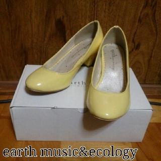 アースミュージックアンドエコロジー(earth music & ecology)のearth m&e*ラウンドトゥパンプス(ハイヒール/パンプス)