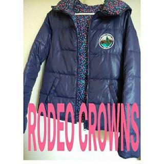 ロデオクラウンズ(RODEO CROWNS)のSALE!!◆RODEO CROWNS◆ロデオクラウンズ・ダウン・上着・リバーシ(ダウンジャケット)