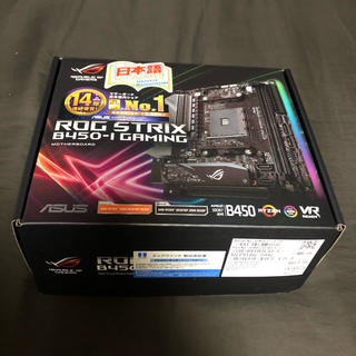 ASUS - ASUS ROG STRIX B450-I GAMING マザーボード