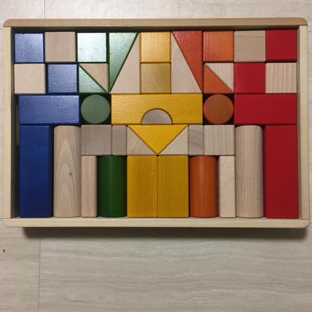 BorneLund(ボーネルンド)のボーネルンド オリジナルカラー積み木 キッズ/ベビー/マタニティのおもちゃ(積み木/ブロック)の商品写真