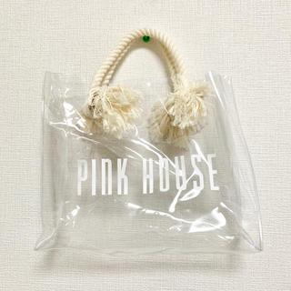 ピンクハウス(PINK HOUSE)のピンクハウス 透明ナイロンバッグ(ハンドバッグ)