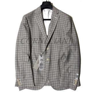 CORNELIANI 高品質 バージンウール チェック テーラード ジャケット(テーラードジャケット)