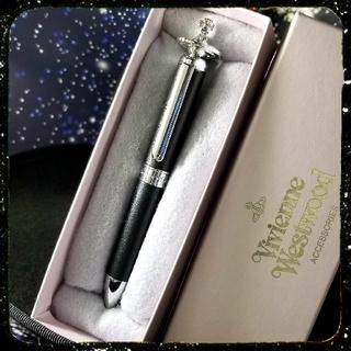 Vivienne Westwood - 新品・オーブ・革巻ボールペン