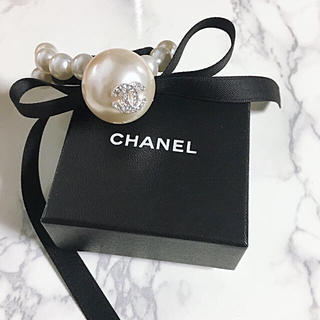 CHANEL - 新品 CHANEL パール リボン ヘアゴム