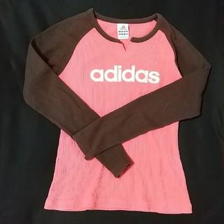 アディダス(adidas)のレディース/アディダス/長袖/トップス/ロンティー/ロンT(Tシャツ(長袖/七分))