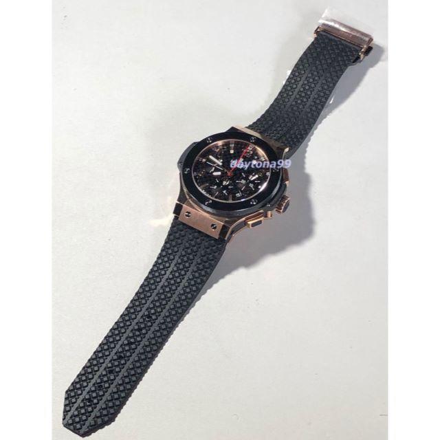 クロエ 財布 スーパーコピー時計 | HUBLOT - ジャック様専用V6製 BIG GOLD 4100 Black Dial 自動巻の通販 by daytona99's shop