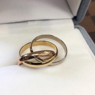 カルティエ(Cartier)のCartier  カルティエ 750 トリニティ リング(リング(指輪))